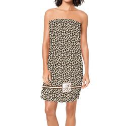 Leopard Print Spa / Bath Wrap (Personalized)