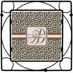 Leopard Print Square Trivet (Personalized)