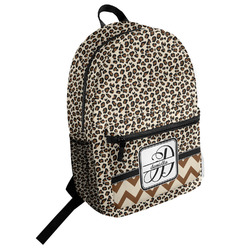 Leopard Print Student Backpack (Personalized)