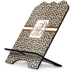 Leopard Print Stylized Tablet Stand (Personalized)