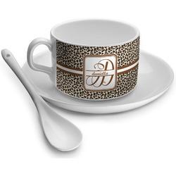 Leopard Print Tea Cups (Personalized)