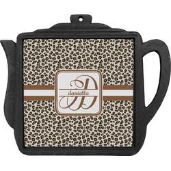 Leopard Print Teapot Trivet (Personalized)