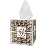 Leopard Print Tissue Box Cover (Personalized)