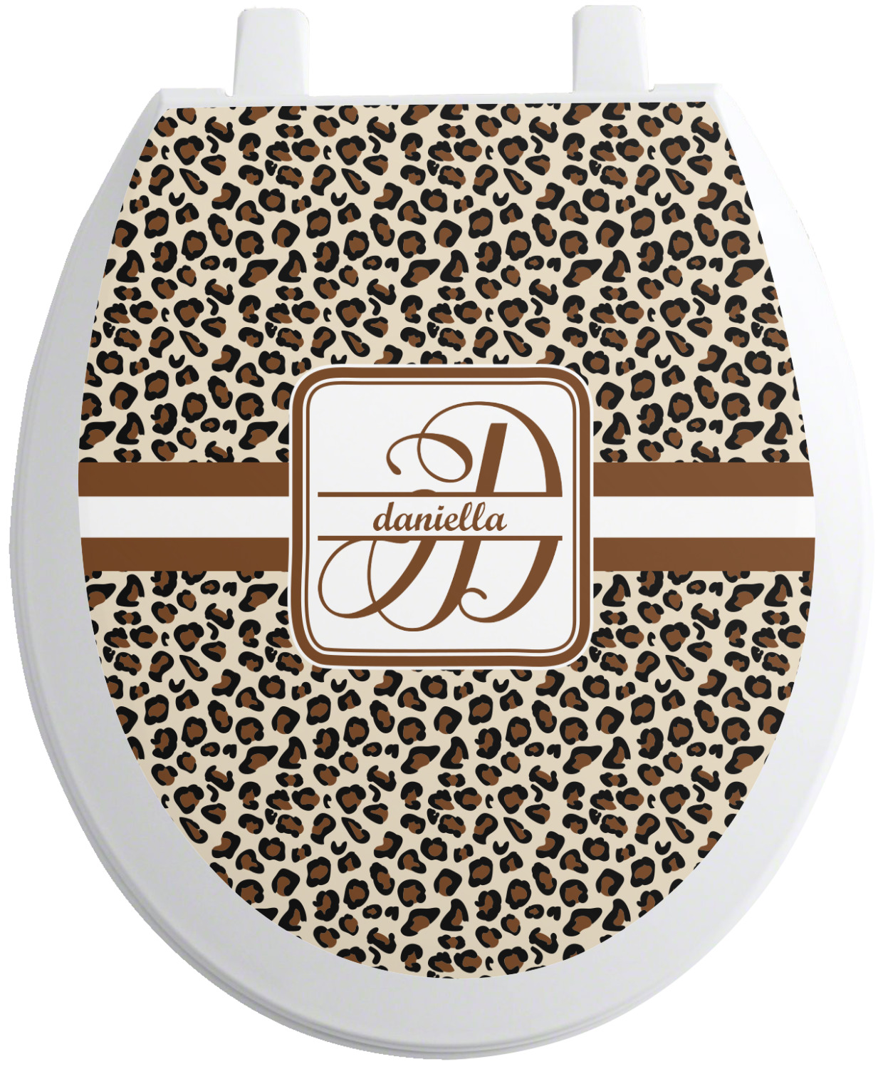 Admirable Leopard Print Toilet Seat Decal Personalized Theyellowbook Wood Chair Design Ideas Theyellowbookinfo
