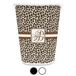 Leopard Print Waste Basket (Personalized)