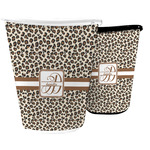 Leopard Print Waste Basket (Personalized)