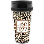 Leopard Print Travel Mug (Personalized)