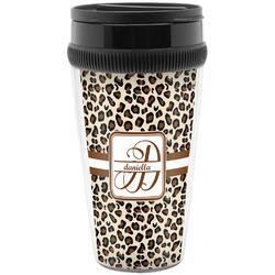 Leopard Print Travel Mugs (Personalized)