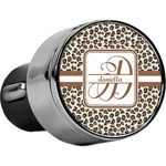 Leopard Print USB Car Charger (Personalized)