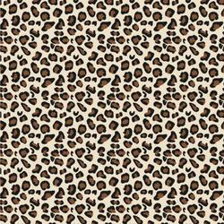 "Leopard Print Wallpaper & Surface Covering (Peel & Stick 24""x 24"" Sample)"