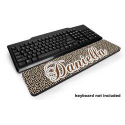 Leopard Print Keyboard Wrist Rest (Personalized)