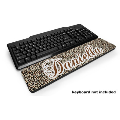 Leopard Print Keyboard Wrist Rest (Personalized)