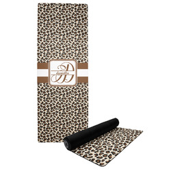 Leopard Print Yoga Mat (Personalized)