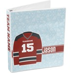Hockey 3-Ring Binder (Personalized)