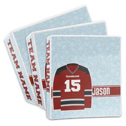 Hockey 3-Ring Binder (Personalized)