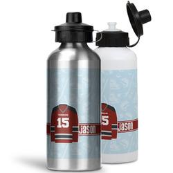 Hockey Water Bottles- Aluminum (Personalized)