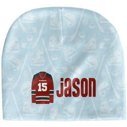 Hockey Baby Hat (Beanie) (Personalized)