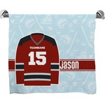 Hockey Bath Towel (Personalized)