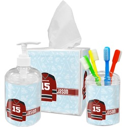 Hockey Bathroom Accessories Set (Personalized)