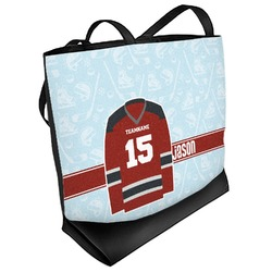 Hockey Beach Tote Bag (Personalized)