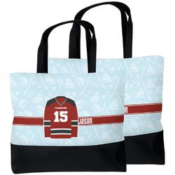 Hockey Beach Tote Bag (Personalized)