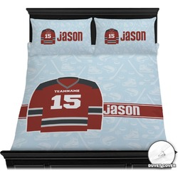 Hockey Duvet Cover Set (Personalized)