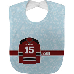 Hockey Baby Bib (Personalized)