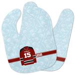 Hockey Baby Bib w/ Name and Number