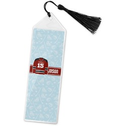 Hockey Book Mark w/Tassel (Personalized)