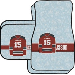 Hockey Car Floor Mats (Personalized)