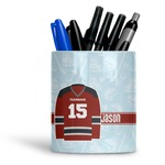 Hockey Ceramic Pen Holder