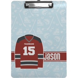 Hockey Clipboard (Personalized)