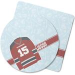 Hockey Rubber Backed Coaster (Personalized)