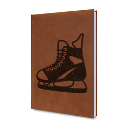 Hockey Leatherette Journal (Personalized)
