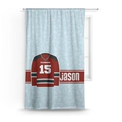 Hockey Curtain (Personalized)