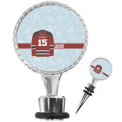 Hockey Wine Bottle Stopper (Personalized)