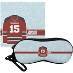 Hockey Eyeglass Case & Cloth (Personalized)