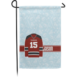 Hockey Garden Flag - Single or Double Sided (Personalized)