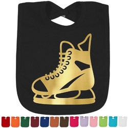 Hockey Foil Toddler Bibs (Select Foil Color) (Personalized)