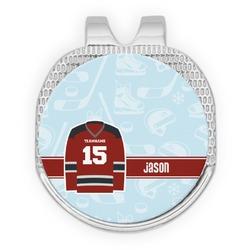 Hockey Golf Ball Marker - Hat Clip