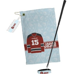 Hockey Golf Towel Gift Set (Personalized)