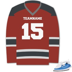 Hockey Graphic Iron On Transfer (Personalized)