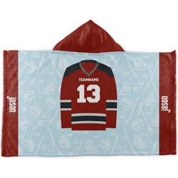 Hockey Kids Hooded Towel (Personalized)