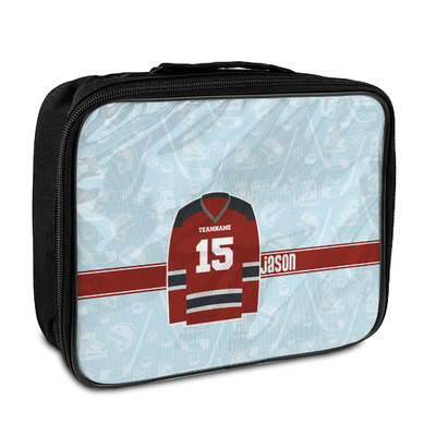 Hockey Insulated Lunch Bag (Personalized)