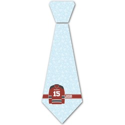 Hockey Iron On Tie (Personalized)