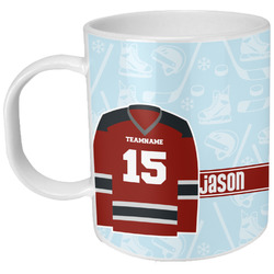 Hockey Plastic Kids Mug (Personalized)