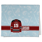 Hockey Kitchen Towel - Full Print (Personalized)