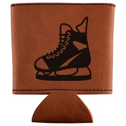 Hockey Leatherette Can Sleeve (Personalized)