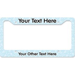 Hockey License Plate Frame (Personalized)