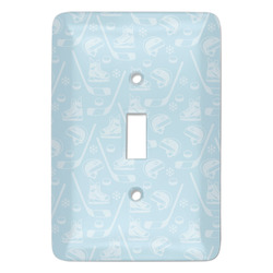 Hockey Light Switch Covers (Personalized)